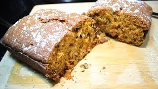 Delicious  Pumpkin Bread  W/ Walnuts Holiday Bread