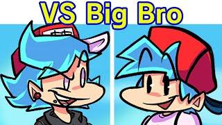 Friday Night Funkin' - VS Big Brother FULL WEEK + Cutscenes & Ending (FNF Mod/Hard) (BF Brother)
