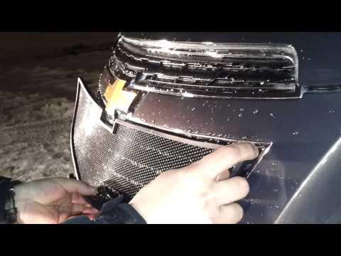 ТюнингМаркет.рф Установка решетки радиатора Chevrolet Cruse 2013г (Черный)