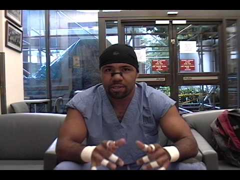 Damien Richardson: Med School Linebacker