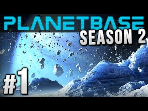 "Planetbase - Ep 1 - Class F ""Ice Planet"" 