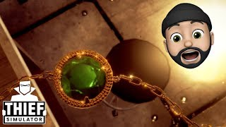 THINKNOODLES THE JEWEL THIEF!! | Thief Simulator #5