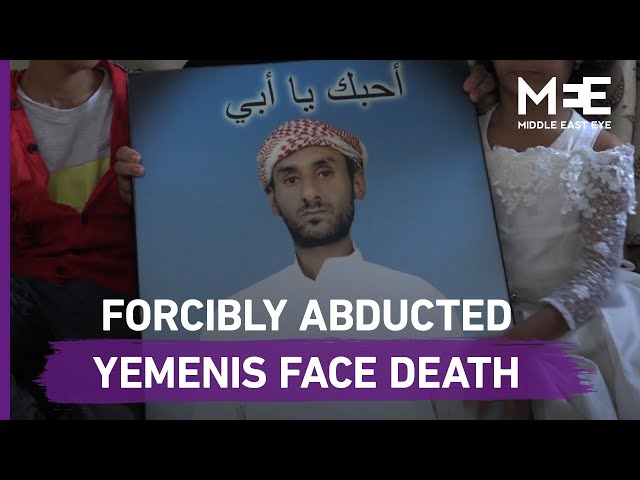 'We looked for him everywhere': Yemeni woman pleads for help to find abducted husband.