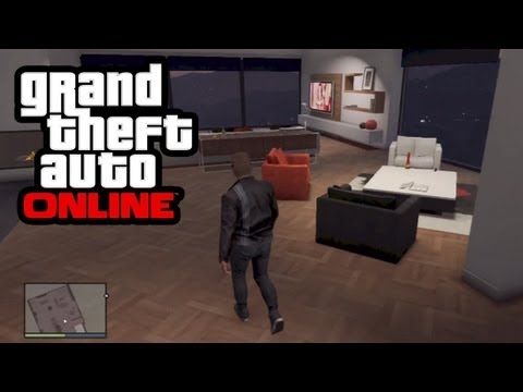 GTA 5 Online - How To Buy Houses, Apartments, Penthouses & Garages! (GTA Online Gameplay)