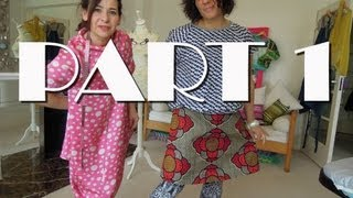 How-to Sew An A-Line Skirt - PART 1 Easy For Beginners