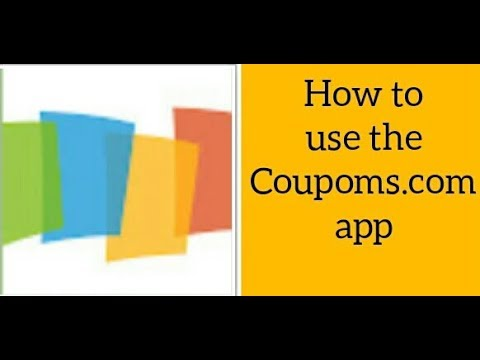 How to use the Coupons.com App