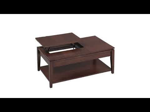 Double Lift Top Coffee Table For Your Home Youtube