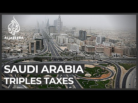 Saudi Arabia slashes budget and increases tax