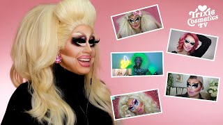 Reacting to YOUR Trixie Makeup Videos