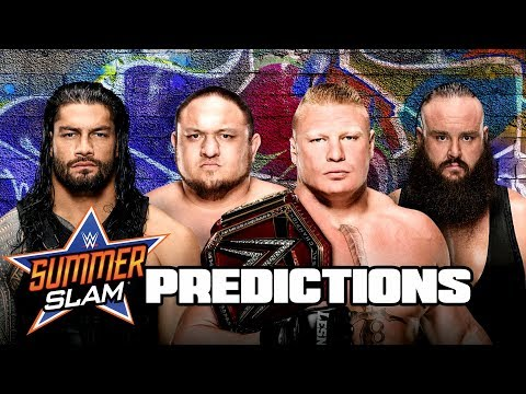 WHO WINS AT SUMMERSLAM 2017?  (DIRT SHEET Pro Wrestling News Ep. 56)