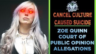 Zoe Quinn causes Night In The Woods Cancel Culture Tragedy