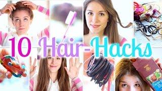 10 HAIR HACKS - einfach und schnell ♡ BarbieLovesLipsticks (P)