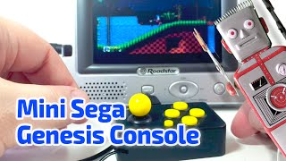 2014 MINI SEGA GENESIS CONSOLE working miniature with 10 games by AtGames
