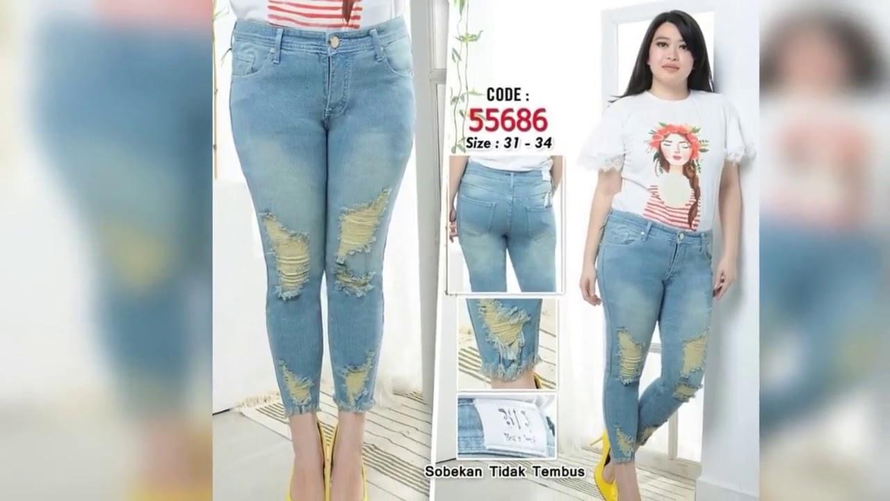 celana jeans cewek keren masakini  celana jeans wanita kekinian