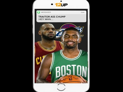 Kyrie Texts LeBron Before First Game Of Season
