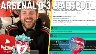 Arsenal 0-3 Liverpool | Liverpool Fan Reactions