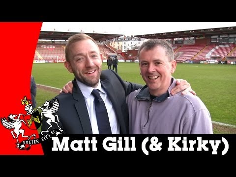 Matt Gill post-Fleetwood Town | Exeter City Football Club