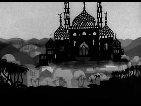 Lotte Reiniger Aladdin And The Magic Lamp 1954