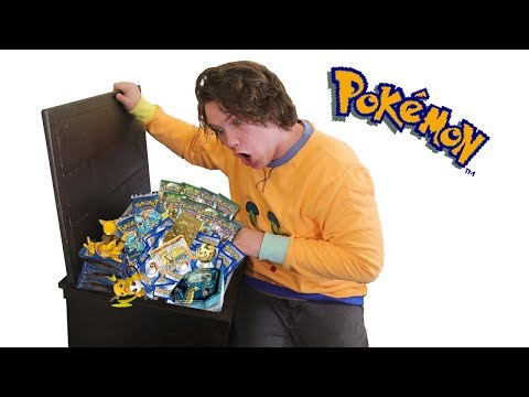 I found all my old Pokemon cards ($1000+)