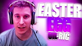 EASTER EGG - OIL RIG | BOYAS, TORMENTA Y MAS! #1 | PokeR988