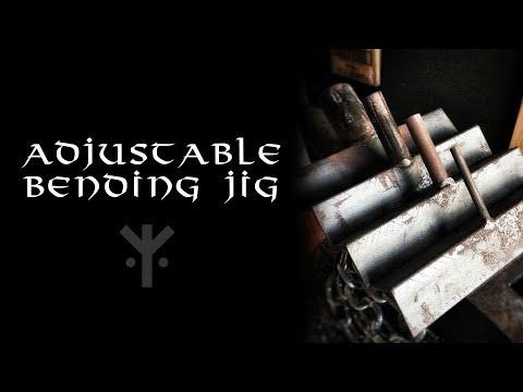 Low Tech Adjustable Bending Jig