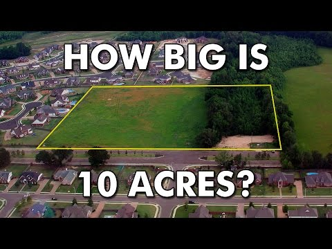 How Big Is 10 Acres
