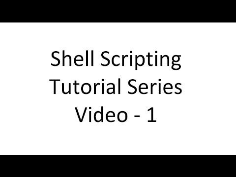 Shell Training 1