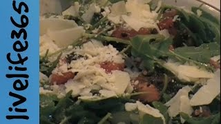 Veg Out With Mike: Arugula, Cucumber, Tomato And Olive Salad