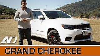 Jeep Grand Cherokee SRT - Un muscle car para toda la familia.