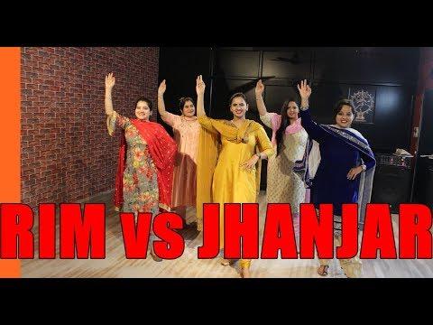 Rim Vs Jhanjar | Karan Aujla | Bhangra | Students | THE DANCE MAFIA
