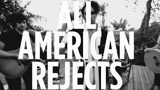 "All American Rejects ""Walk Over Me"" Acoustic Live @ SiriusXM // Hits 1"