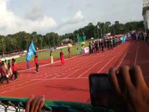 KERALA School sports meet- 2017 at PALA-Marchpast
