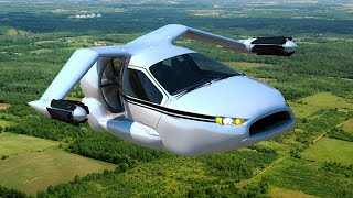 TOP 5 Craziest Flying Cars | YOU MUST SEE !