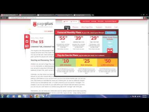 Page Plus Prepaid Review Part 2 Plans