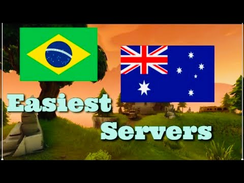 FORTNITE TOP 3 EASIEST SERVERS TO WIN ON 2019 CHAPTER 2