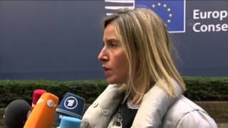 EU Summit in Brussels - Global migration crisis in the European Union