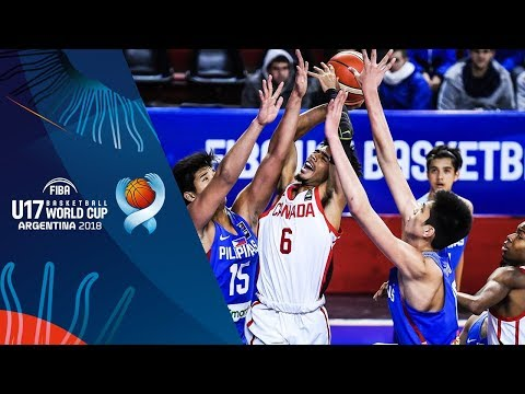 HIGHLIGHTS: Batang Gilas vs. Canada (VIDEO) 2018 FIBA U17 Basketball World Cup