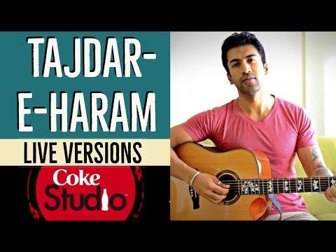 Tajdar-e-Haram | Atif Aslam | Coke Studio | Guitar Cover + Lesson