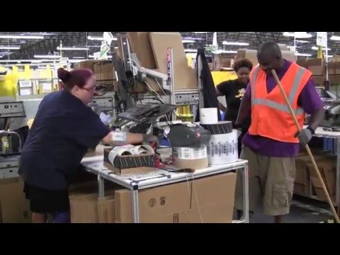 Inside Amazon's Chester fulfillment center