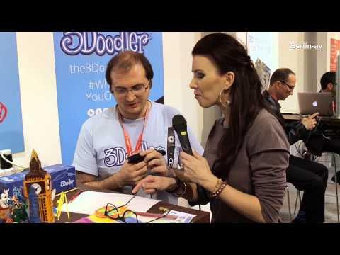 IFA Berlin 2013 – Hand-held 3D printing pen 3Doodler
