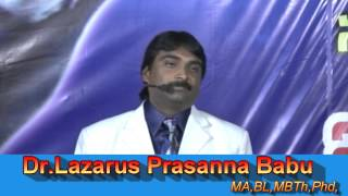 Dr.Prasanna Babu Rising Voice in Tamil on behalf of the Word of God
