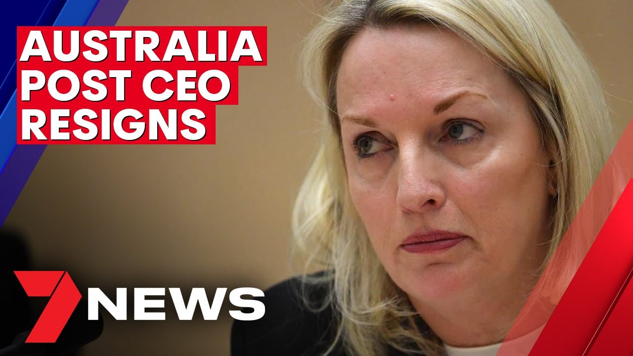 Australia Post CEO quits over Cartier watches scandal | 7NEWS
