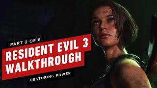 Resident Evil 3 Walkthrough - Restoring Substation Power (Part 2)