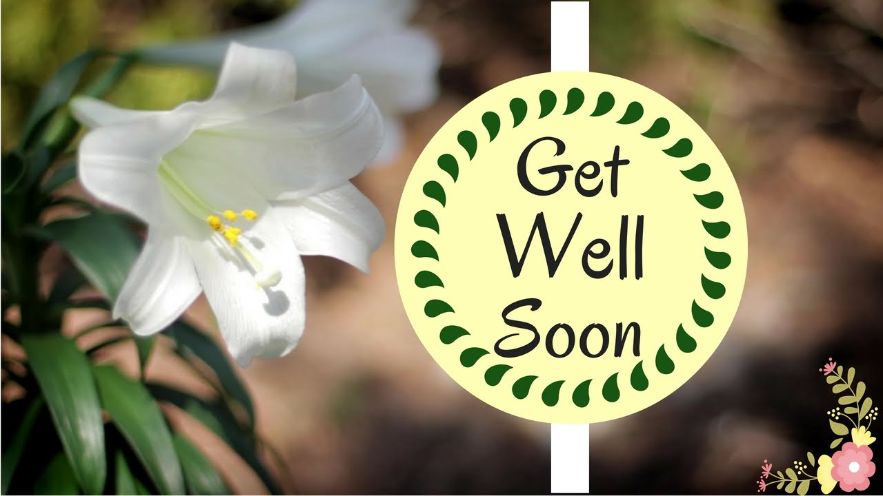 Get Well Wishes Quotes Best Get Well Soon Wishes  Brilliant Uplifting Quotes  Youtube