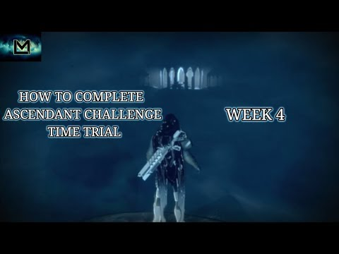 Destiny 2: How to Complete an Ascendant Challenge Time Trial Solo Week 4: Keep of Honed Edges