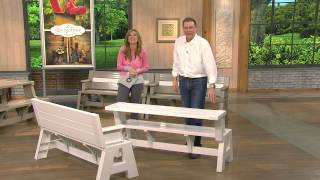 Convert-a-bench Ultra Ii Outdoor 2-in-1 Bench-to-table W/5 Year Lmw With Stacey Stauffer