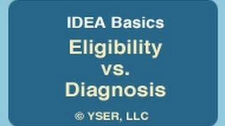 IDEA Basics: Eligibility and Diagnosis