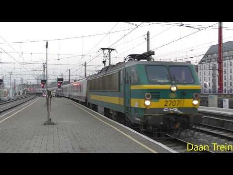 HLE 27 07 met M4 komt aan in Brussel Zuid