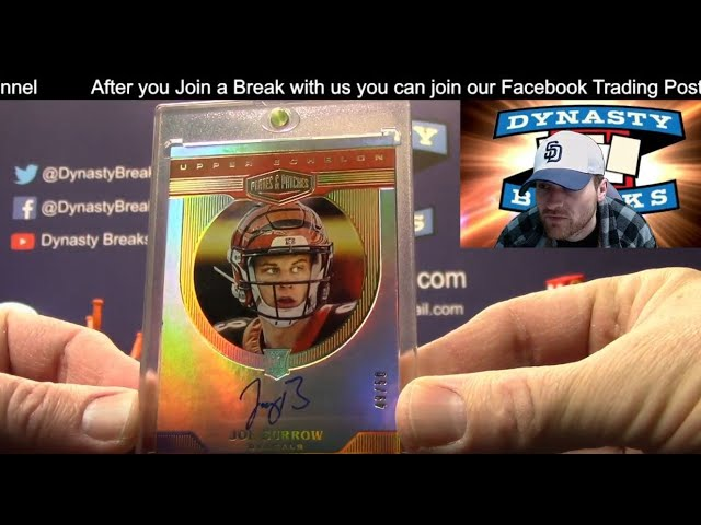 2020 Plates and Patches Football Card 12 Box Case Break #2   Sports Cards