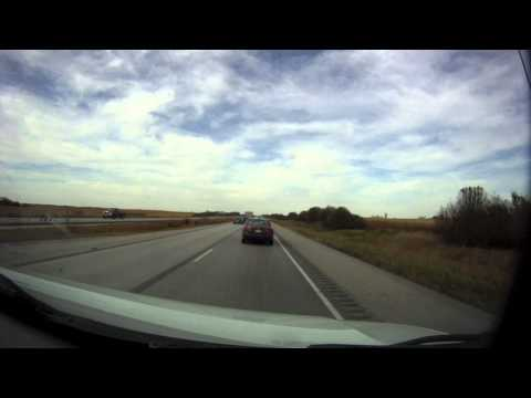 Omaha to Minneapolis Trip Timelapse